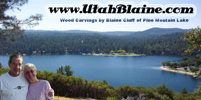 Blaine Cluff's Wood Carving Gallery